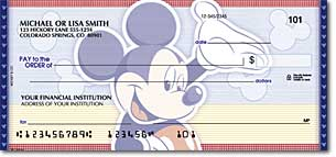 Mickey Mouse Checks Buy Discount Mickey Amp Minnie Bank Checks